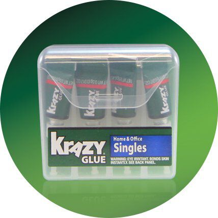 home and office singles crazy glue pack icon